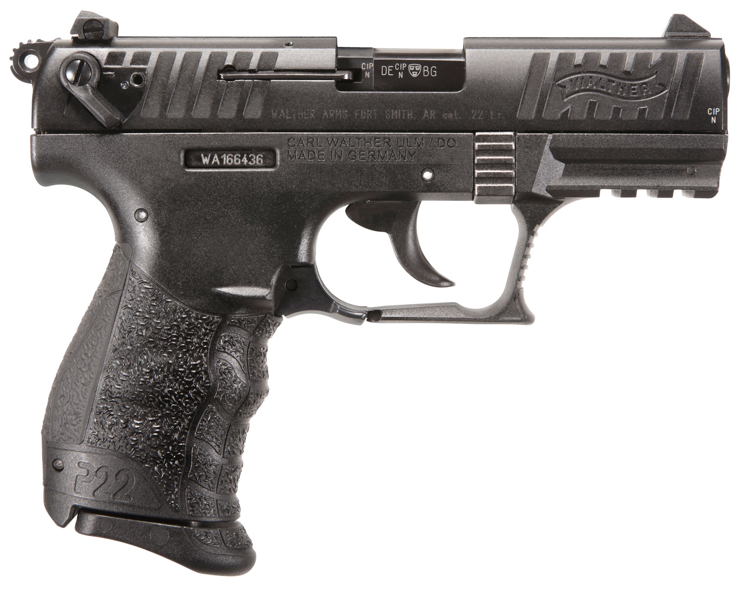 Walther Arms 5120700 P22 Q 22 LR 3.42