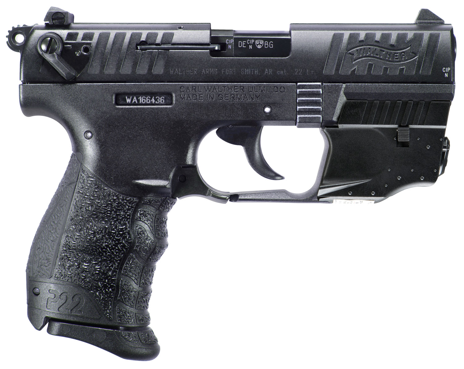 Walther Arms 5120729 P22 Q 22 LR 3.42