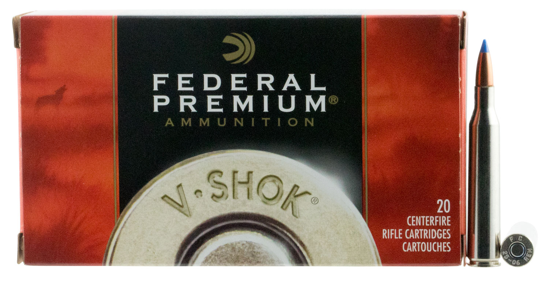 Federal P2506G Premium Varmint & Predator  25-06 Remington 85 GR Nosler Ballistic Tip 20 Bx/ 10 Cs
