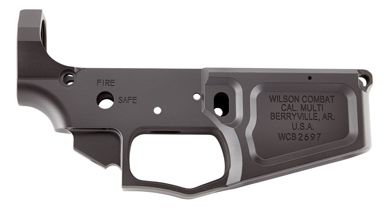 Wilson Combat TRLOWERBIL AR Style Billet Lower  AR-15 Rifle 223 Remington/5.56 NATO Black Armor-Tuff