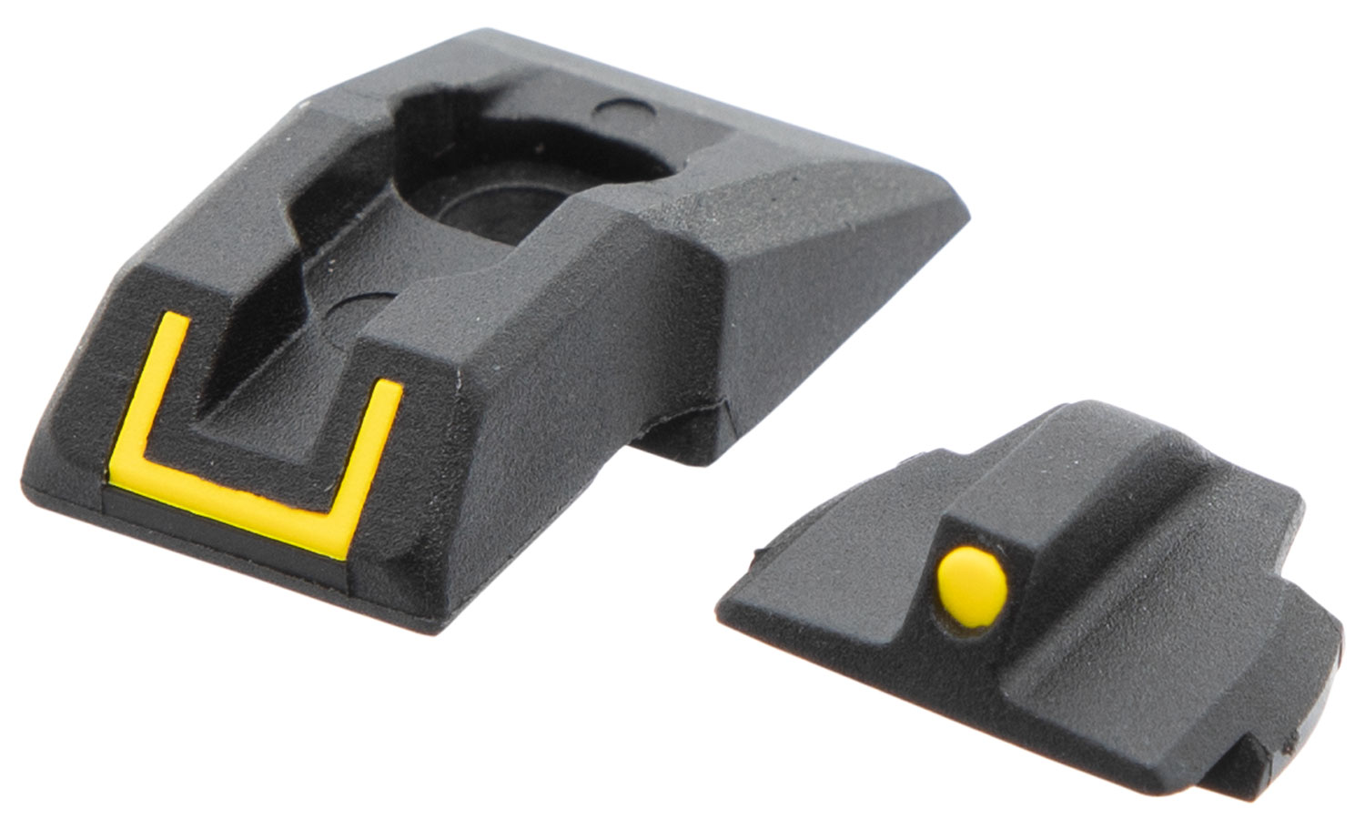 Ruger 90649 Security-9 Sight Set   Ruger Security-9 Black/Yellow Front Black/Yellow Rear
