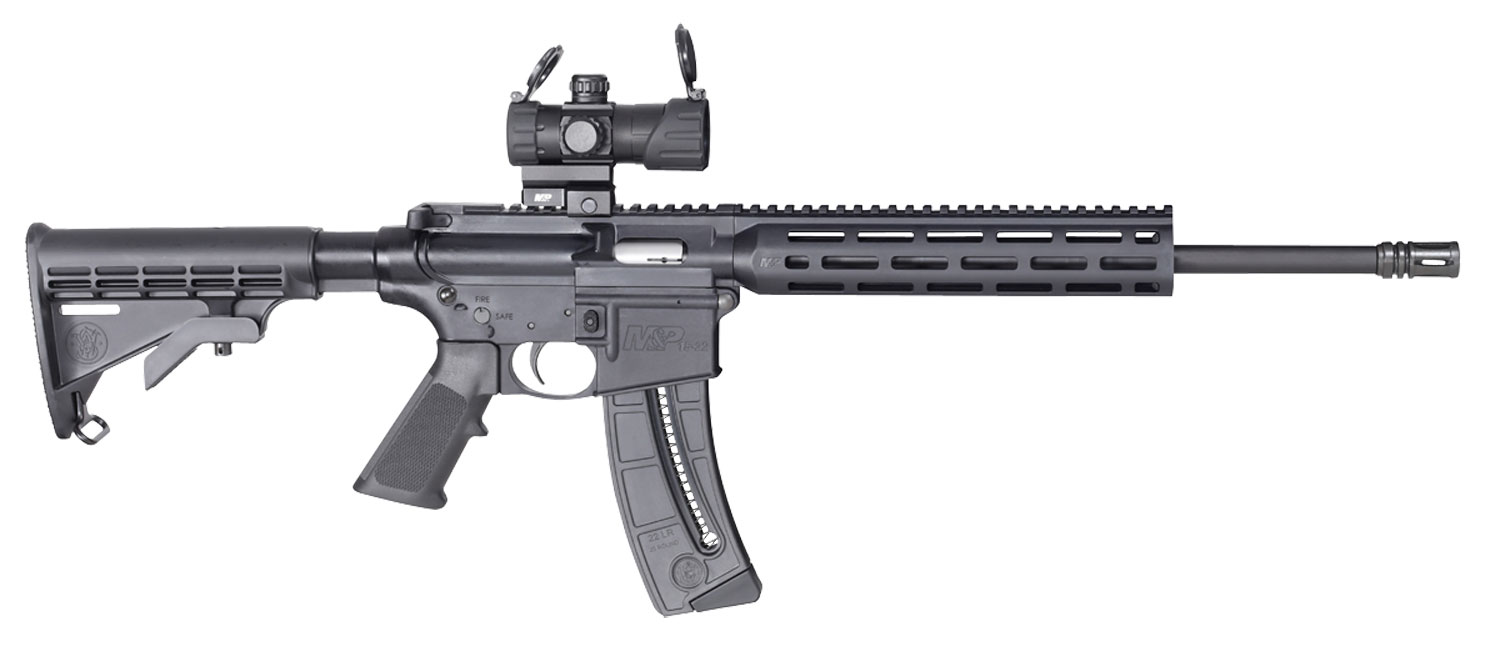 Smith & Wesson 12722 M&P15-22 Sport OR Semi-Automatic 22 LR 16.5