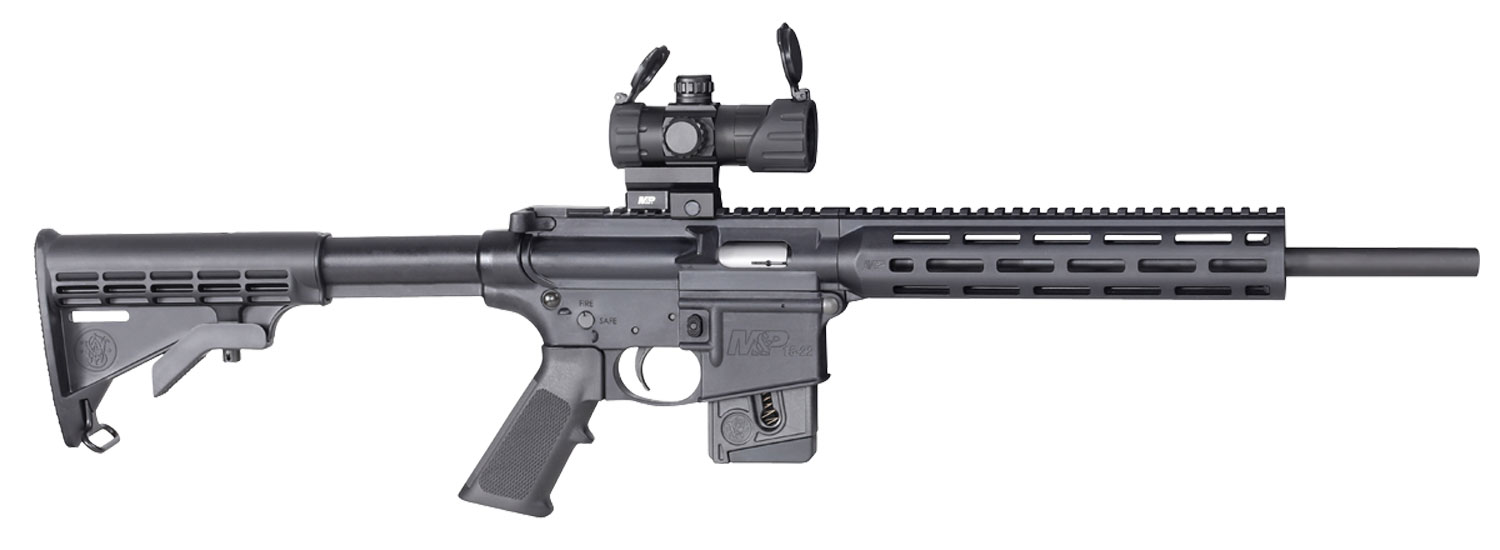 Smith & Wesson 12724 M&P15-22 Sport OR *CA Compliant*  Semi-Automatic 22 Long Rifle (LR) 16.5