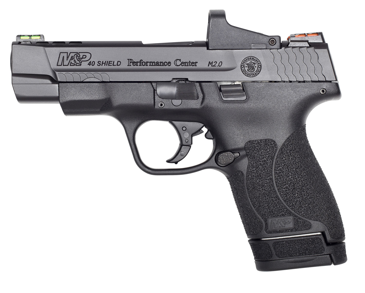 Smith & Wesson 11798 M&P 40 Shield M2.0 Performance Center 40 S&W Double 4