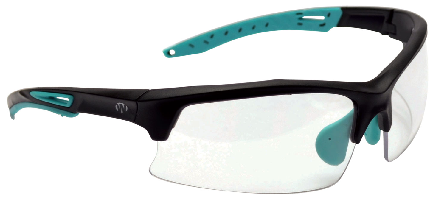Walkers GWPTLSGLCLR Sport Glasses  Clear Lens with Teal Frame