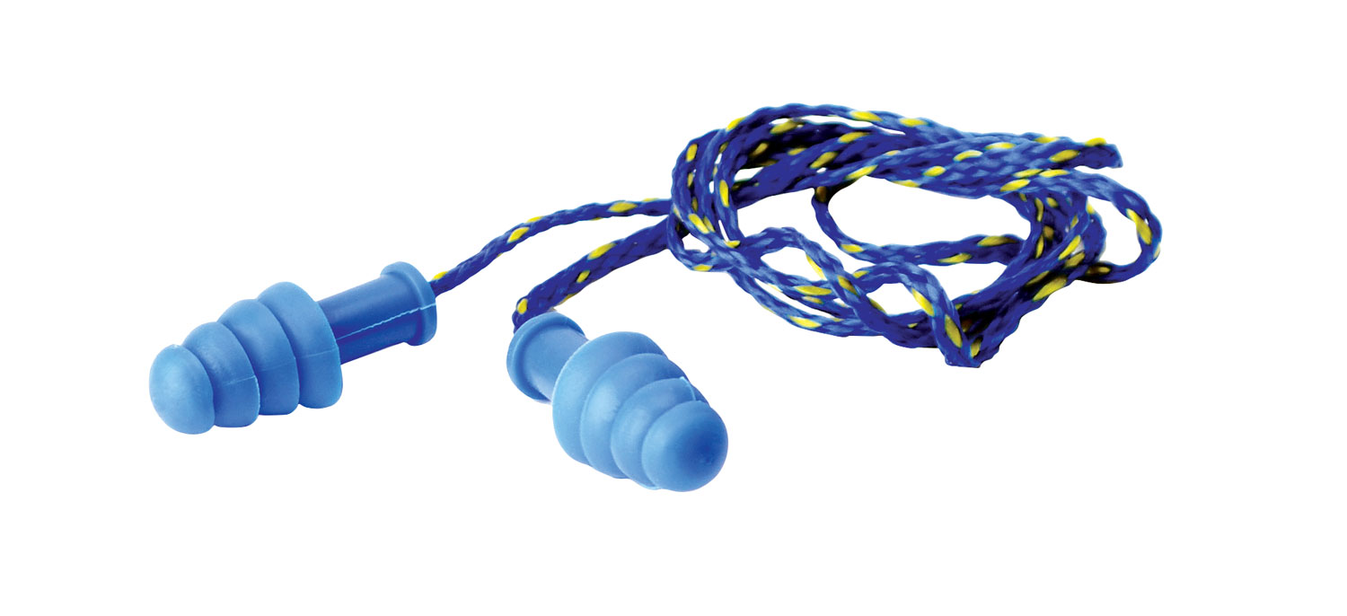 WALKER'S 1PK BL CRDED EARPLUG