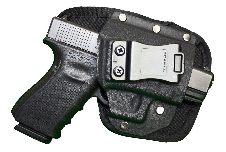 Crossfire Shooting Gear CRFEDCSA1SFR EDC  Black 1680D Ballistic Nylon IWB 2-2.5