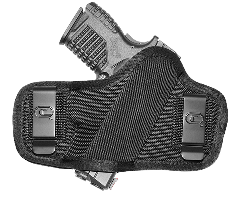 Crossfire Shooting Gear CRFCLPONSA1S2 Clip-On  Black 1680D Ballistic Nylon OWB 2-2.5
