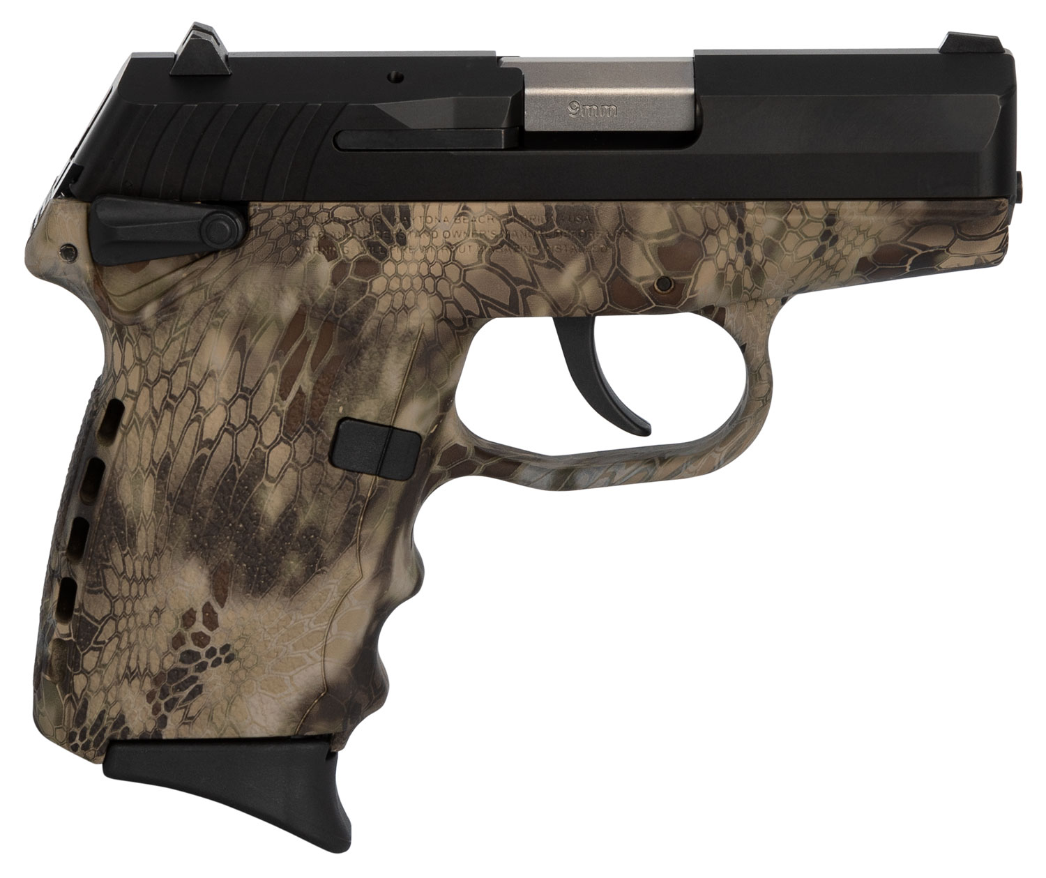SCCY Industries CPX1CBKH CPX-1 Carbon  9mm Luger Double 3.1