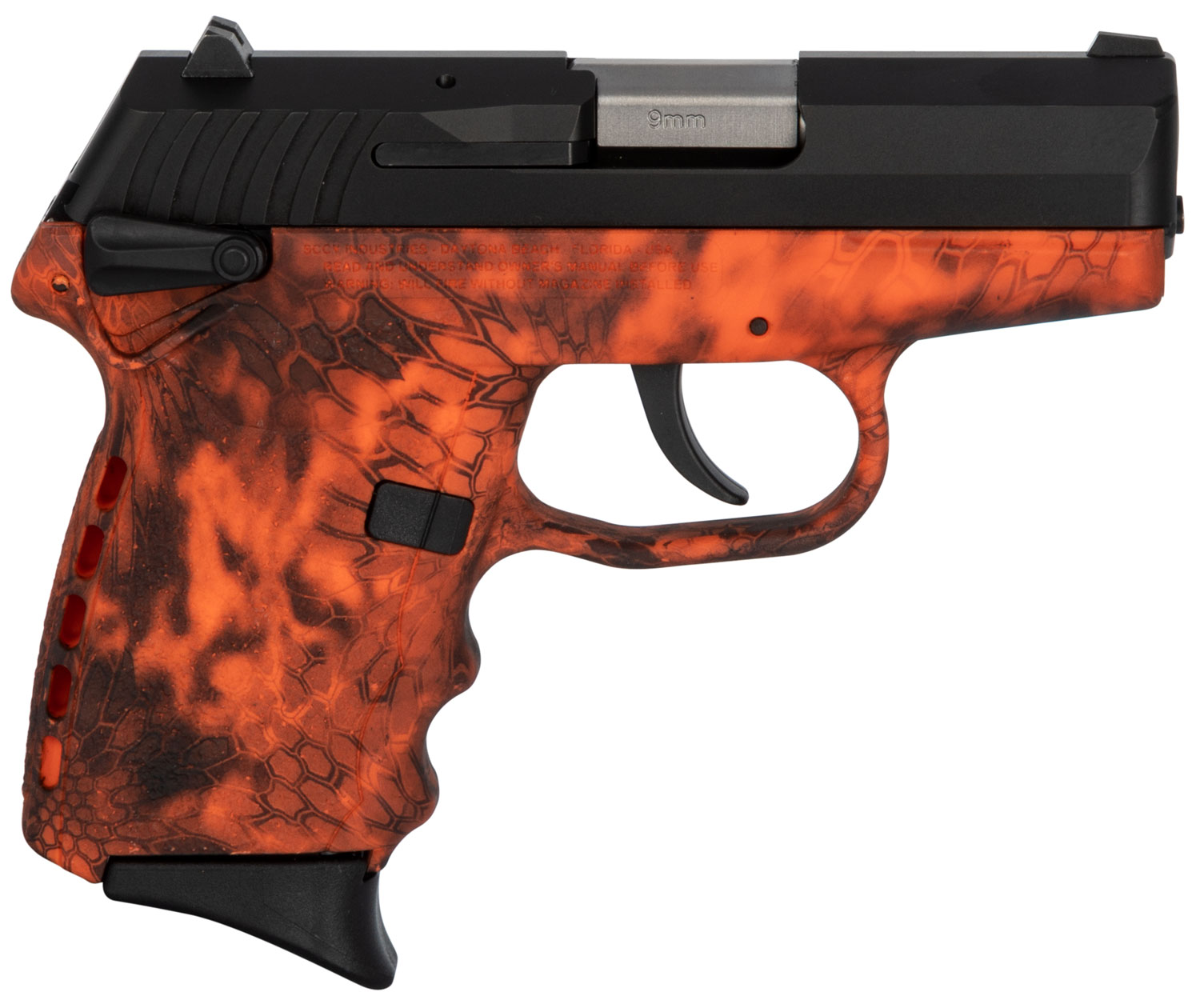 SCCY Industries CPX1CBKI CPX-1 Carbon  9mm Luger Double 3.1