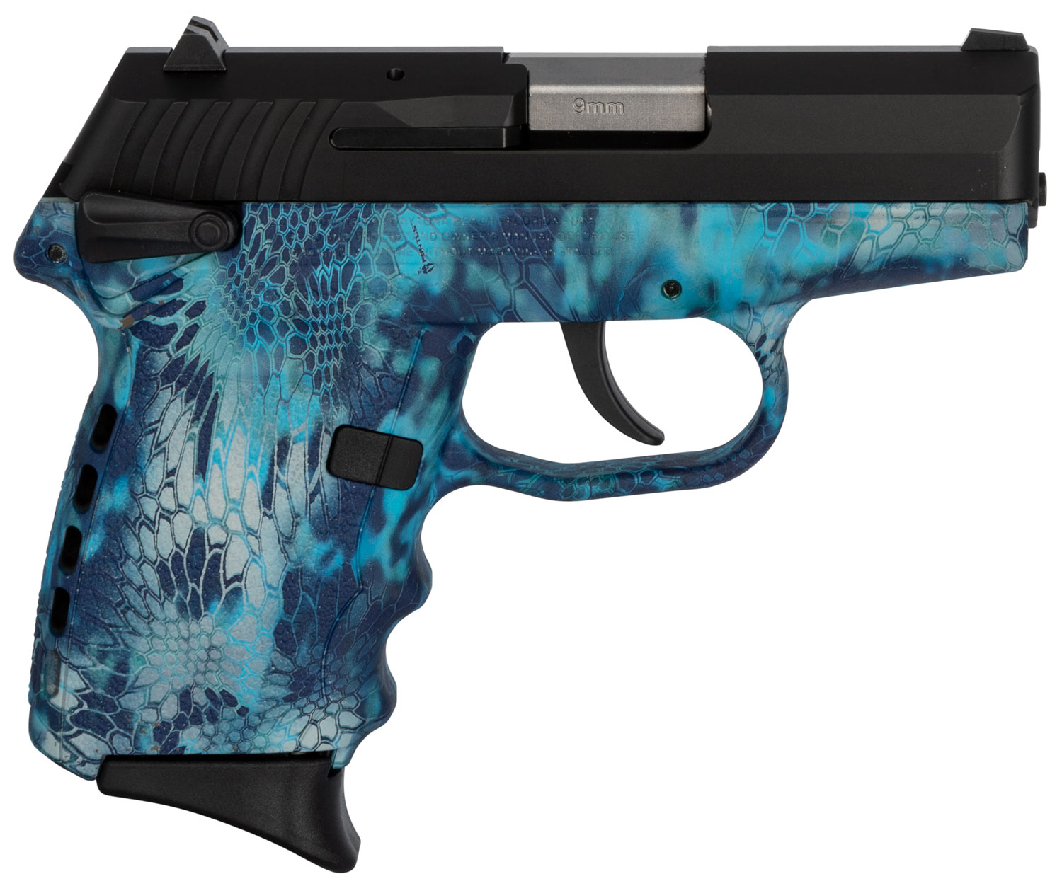 SCCY Industries CPX1CBKP CPX-1 Carbon  9mm Luger Double 3.1