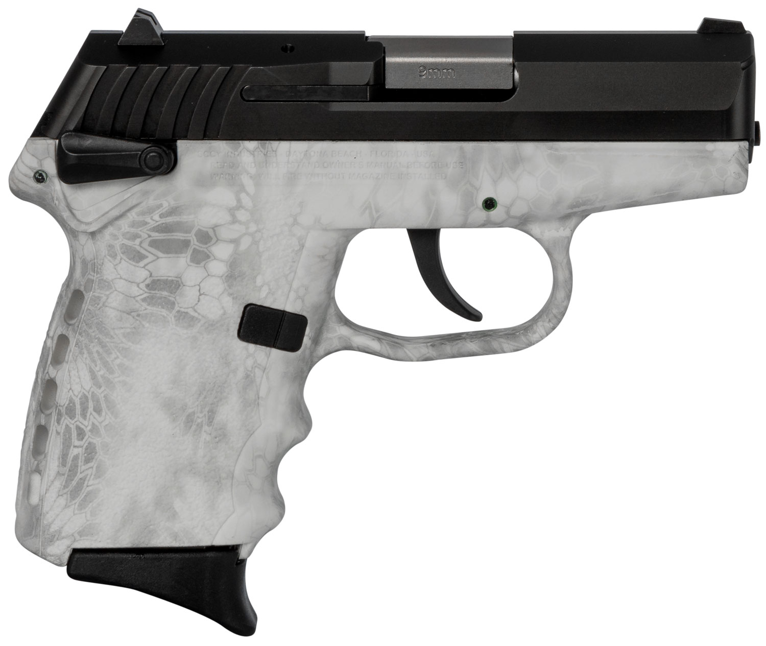 SCCY Industries CPX1CBKY CPX-1 Carbon  9mm Luger Double 3.1