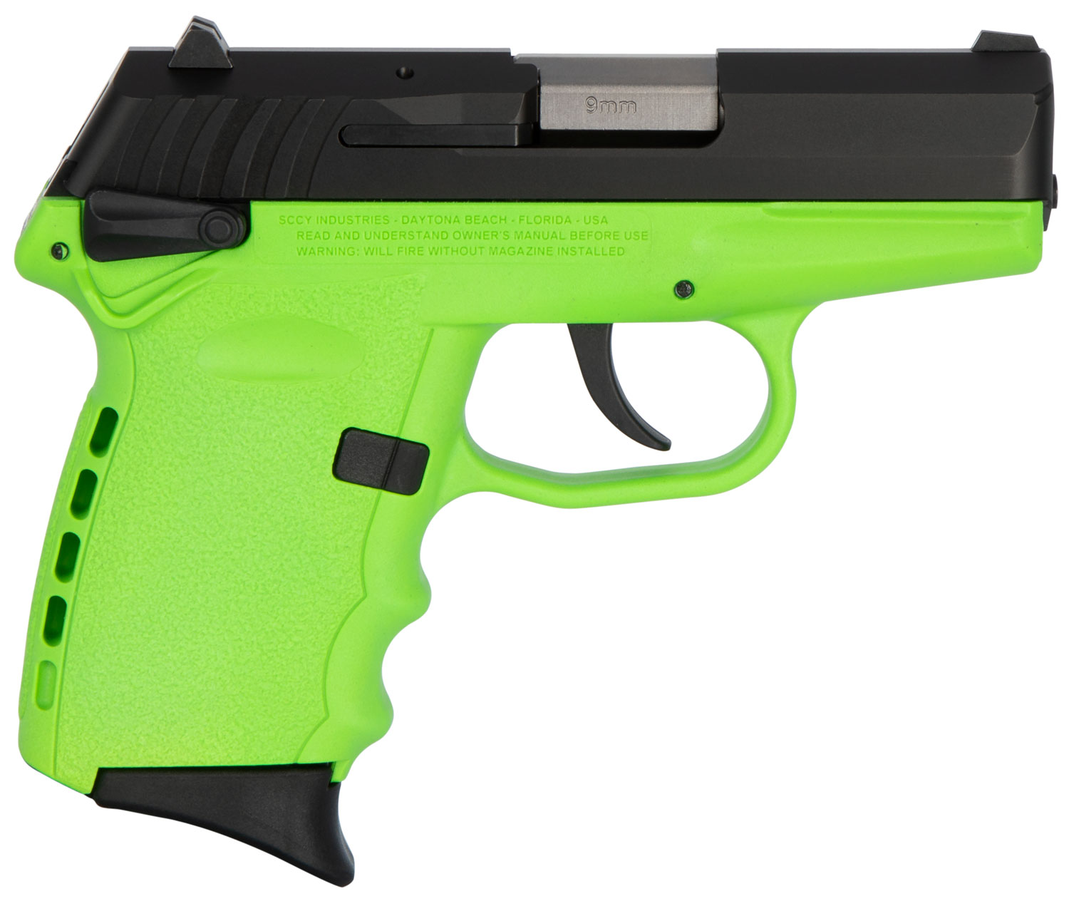 SCCY Industries CPX1CBLG CPX-1 Carbon  9mm Luger Double 3.1