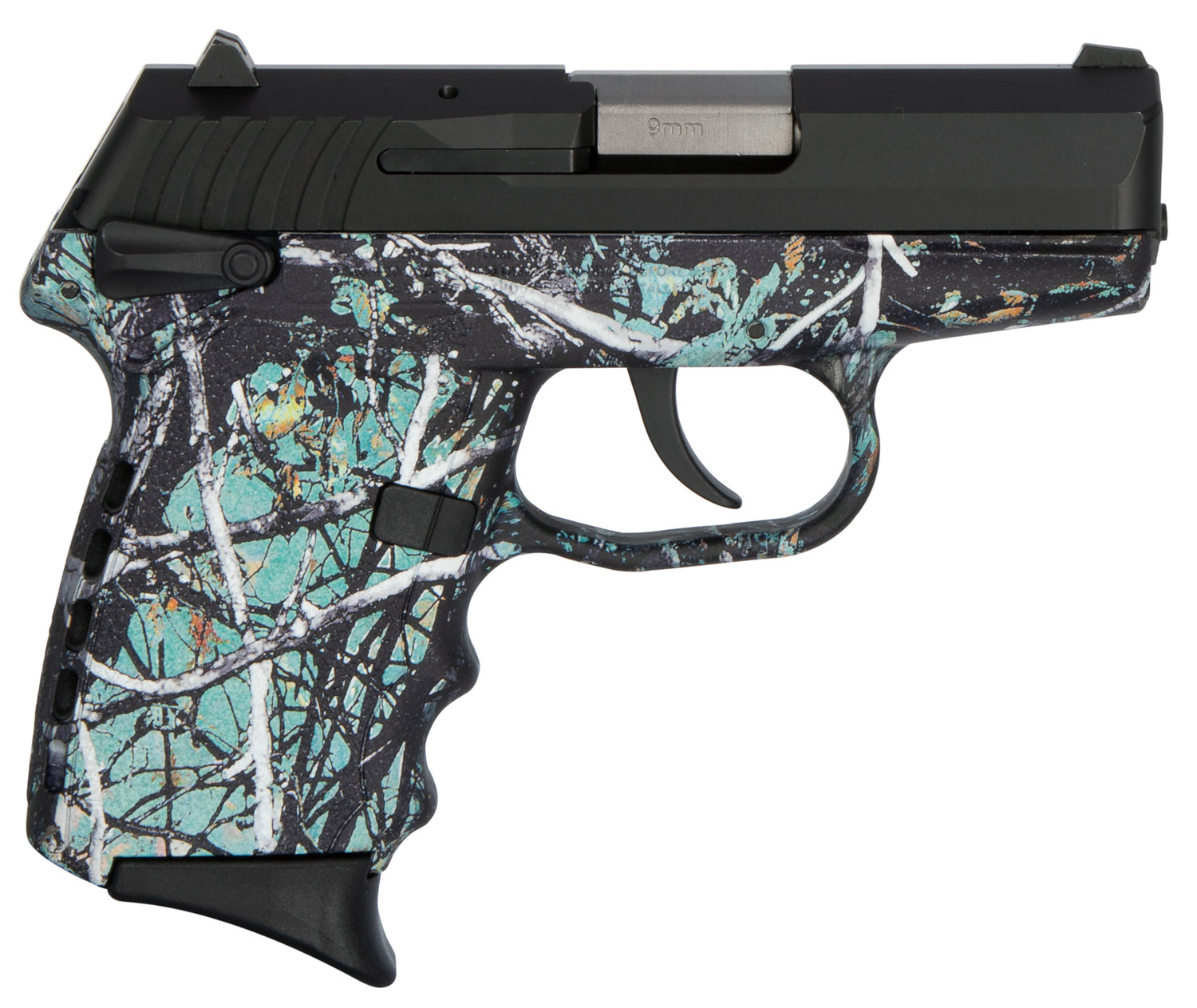 SCCY Industries CPX1CBMS CPX-1 Carbon  9mm Luger Double 3.1