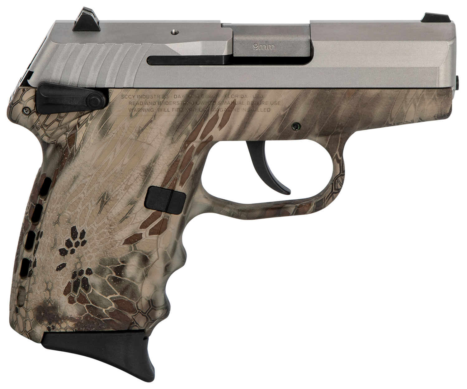 SCCY Industries CPX1TTKH CPX-1 Carbon  9mm Luger Double 3.1