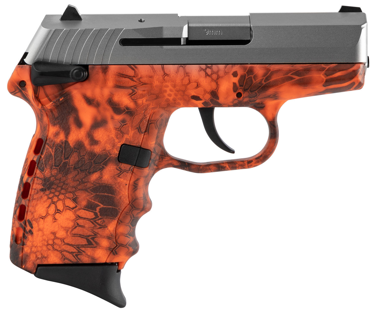 SCCY Industries CPX1TTKI CPX-1 Carbon  9mm Luger Double 3.1