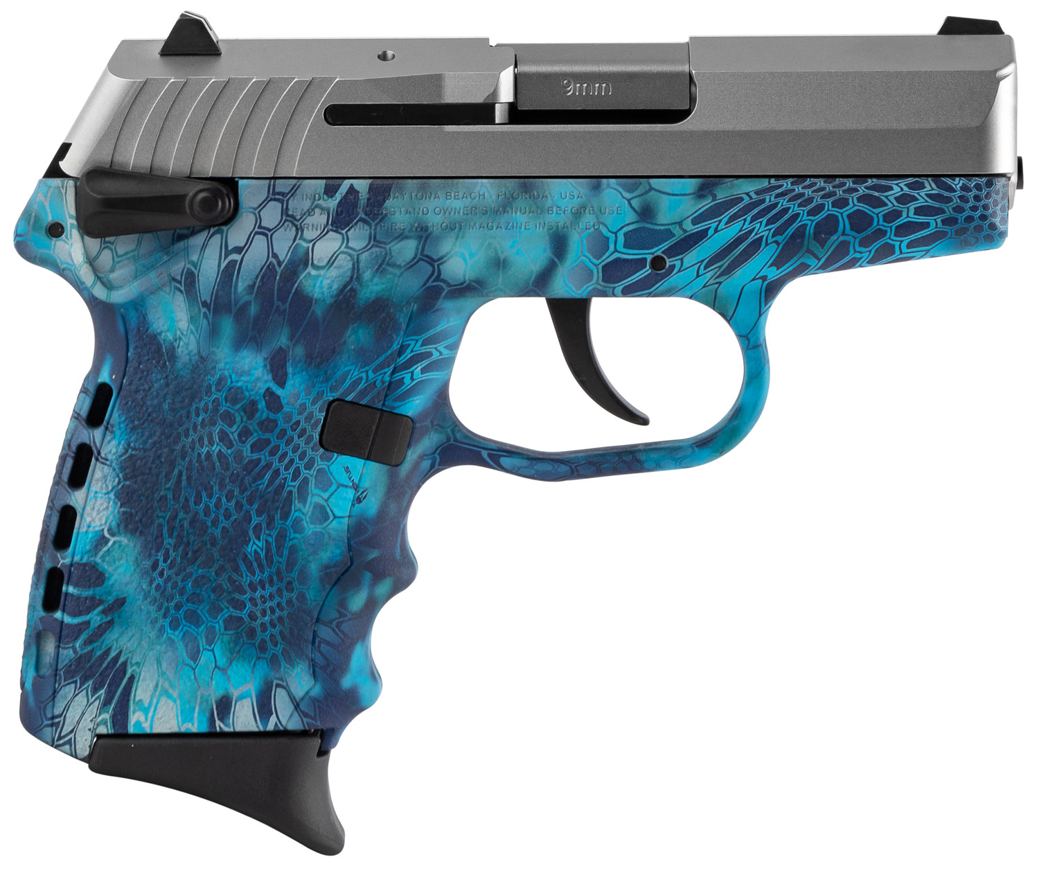 SCCY Industries CPX1TTKP CPX-1 Carbon  9mm Luger Double 3.1