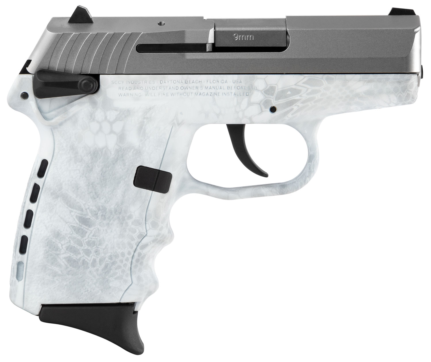 SCCY Industries CPX1TTKY CPX-1 Carbon  9mm Luger Double 3.1