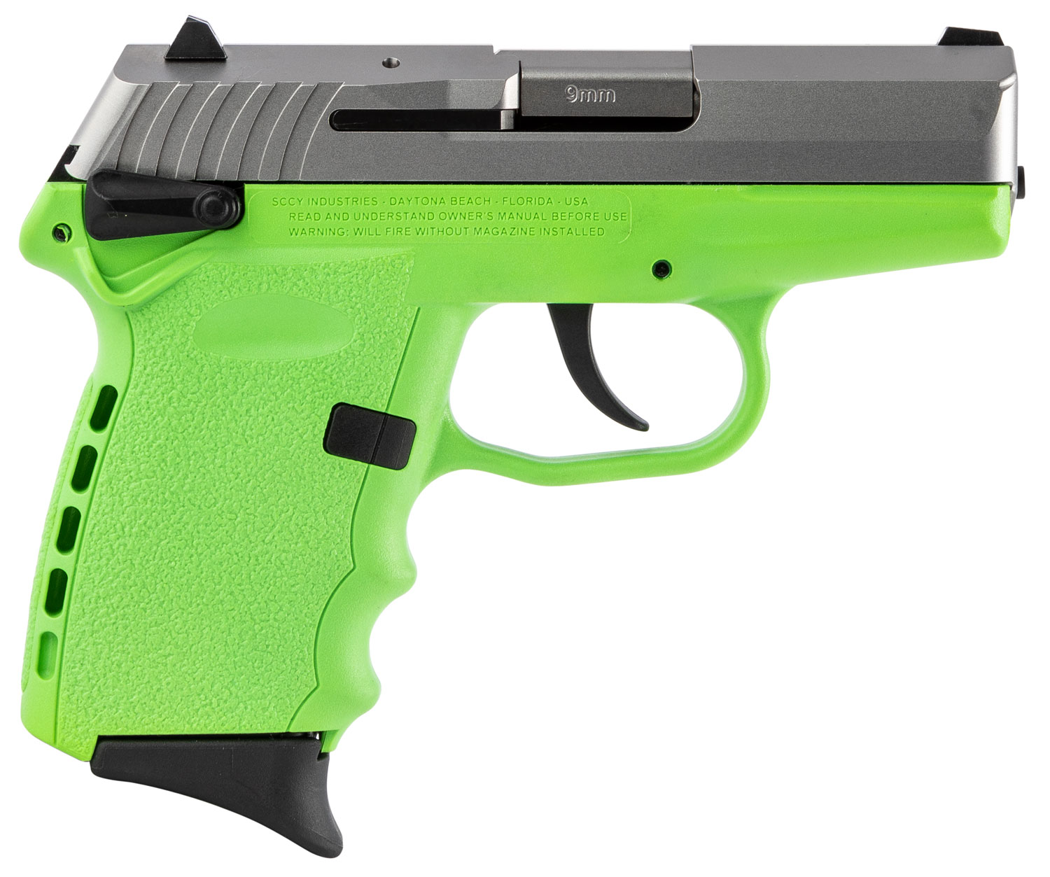 SCCY Industries CPX1TTLG CPX-1 Carbon  9mm Luger Double 3.1