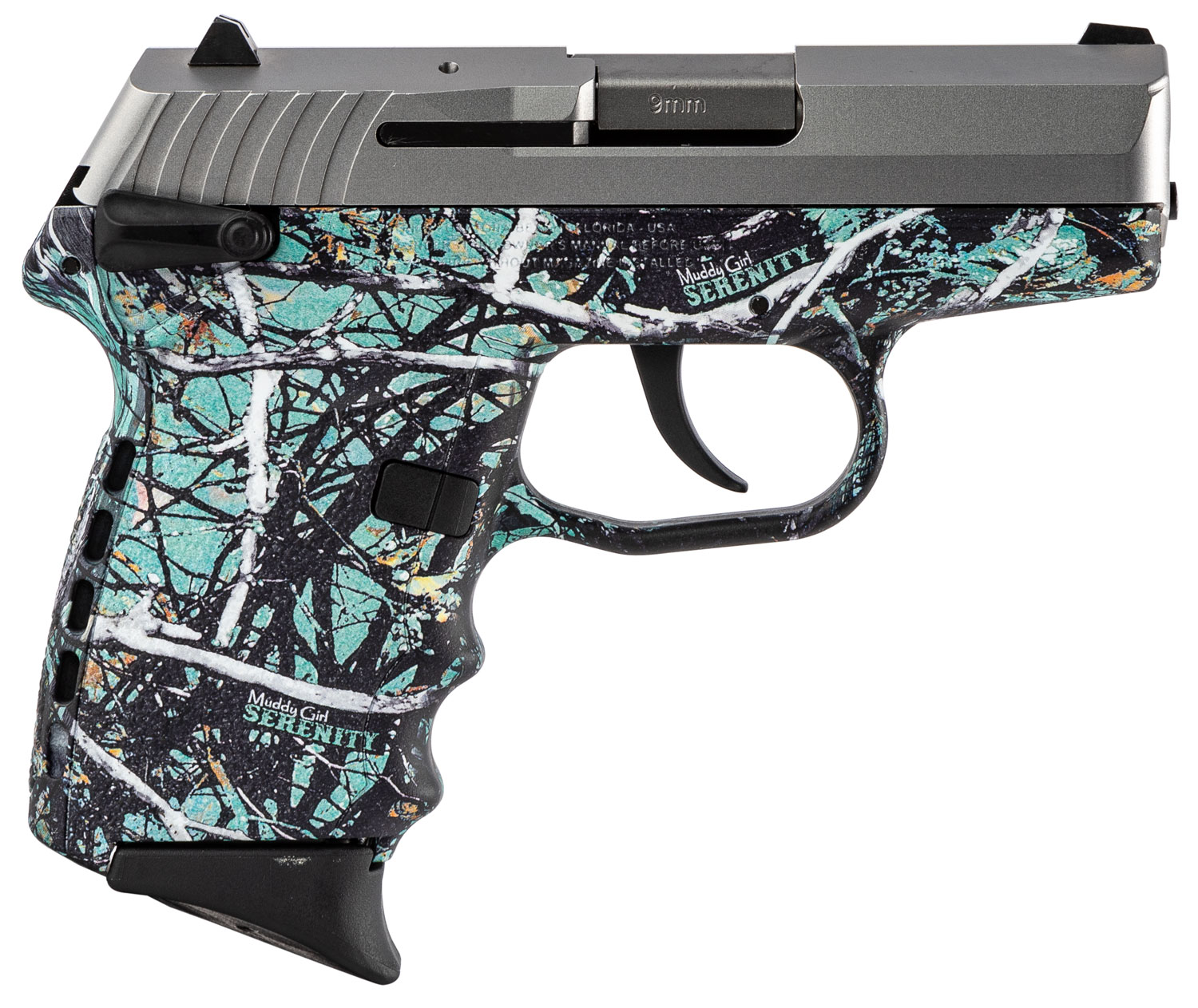 SCCY Industries CPX1TTMS CPX-1 Carbon  9mm Luger Double 3.1