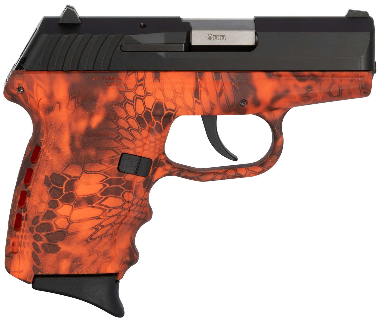 SCCY Industries CPX2CBKI CPX-2 Carbon  9mm Luger Double 3.1