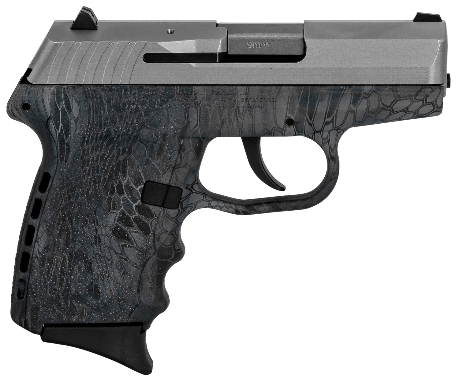 SCCY Industries CPX2TTKT CPX-2 Carbon  9mm Luger Double 3.1