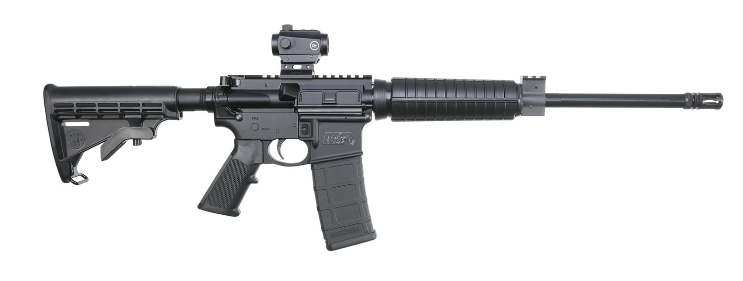 Smith & Wesson 12936 M&P15 Sport II OR with CTS-103 Red Dot Semi-Automatic 5.56 NATO 16