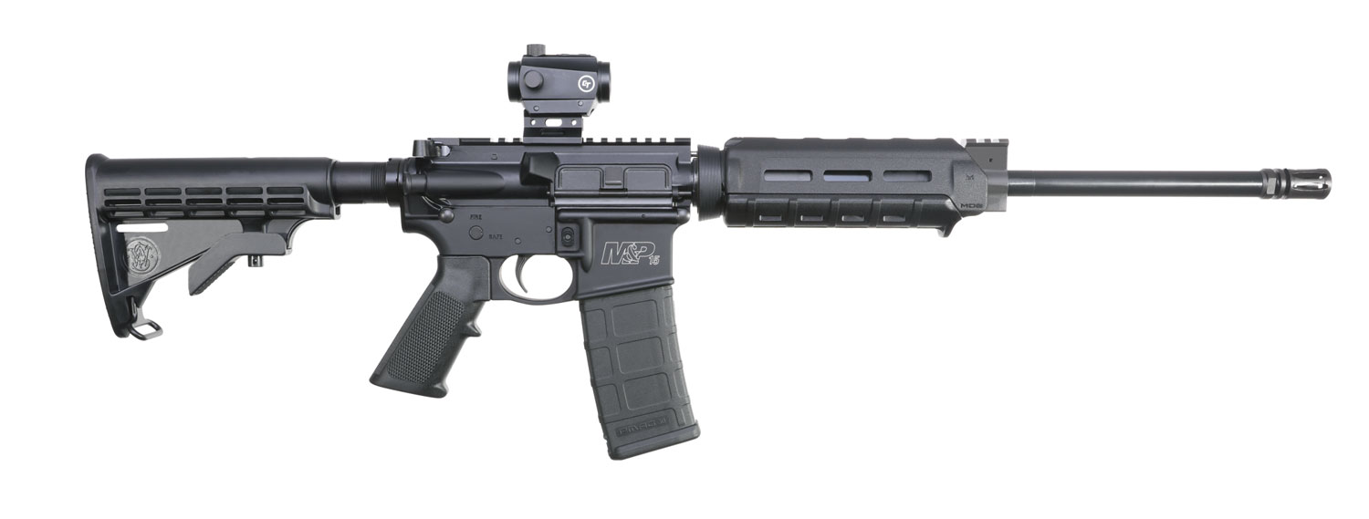 Smith & Wesson 12939 M&P15 Sport II OR Magpul MOE with CTS-103 Semi-Automatic 5.56 NATO 16