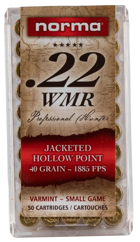 Ruag Ammotec USA 297140050   22 WMR 40 GR Jacketed Hollow Point 50 Bx/ 40 Cs