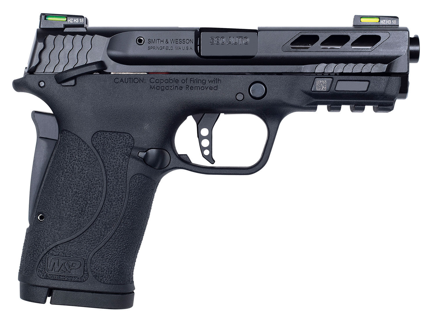 Smith & Wesson 12717 Performance Center 380 Shield EZ  380 Automatic Colt Pistol (ACP) Double 3.8