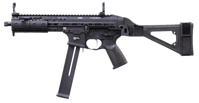 SMG PIST 45ACP BLK -