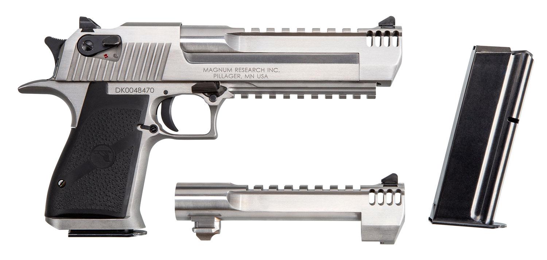 Magnum Research DE50429SMRB Desert Eagle Mark XIX with Muzzle Brake 50 AE/429 DE 6