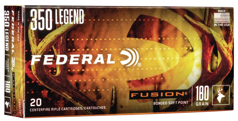 Federal F350LFS1    350 Legend 180 GR Soft  Point (SP) 20 Bx/ 10 Cs
