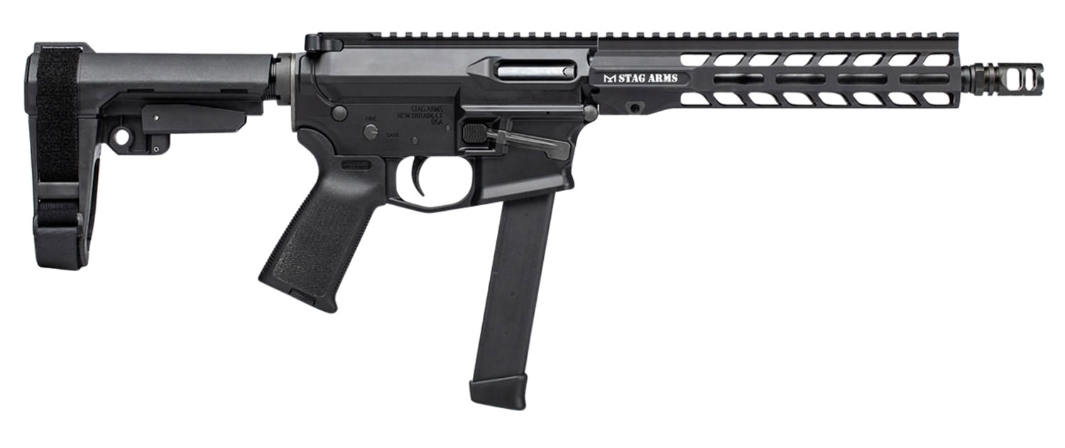 Stag Arms 800028 PXC-9   Semi-Automatic 9mm Luger 10