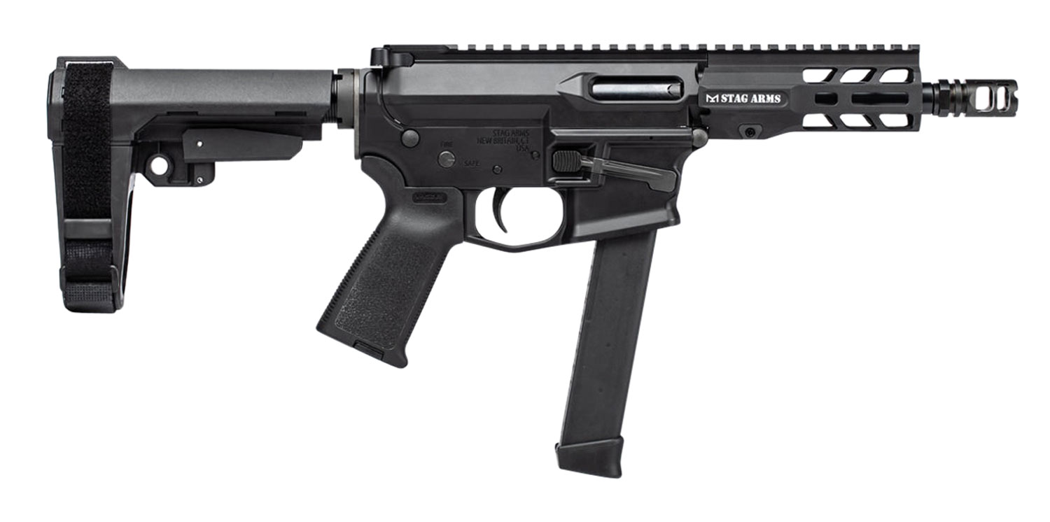 Stag Arms 800027 PXC-9   Semi-Automatic 9mm Luger 5.5