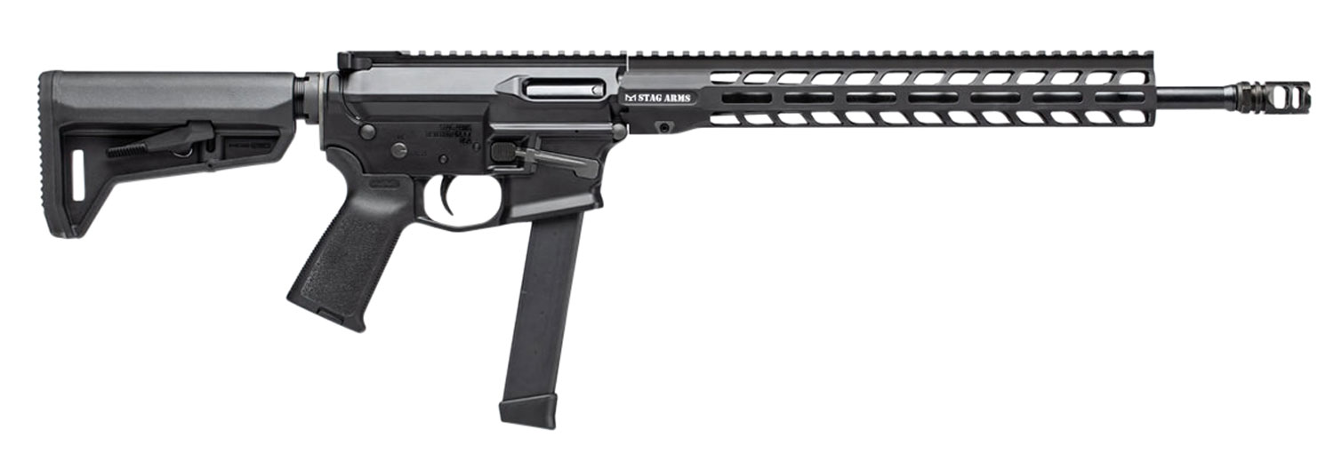 Stag Arms 800025 PXC-9   Semi-Automatic 9mm Luger 16