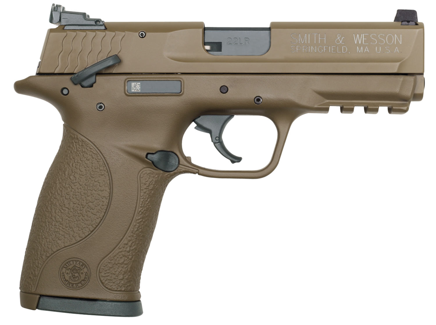 Smith & Wesson 12570 M&P 22 Compact 22 Long Rifle (LR) Single 3.6