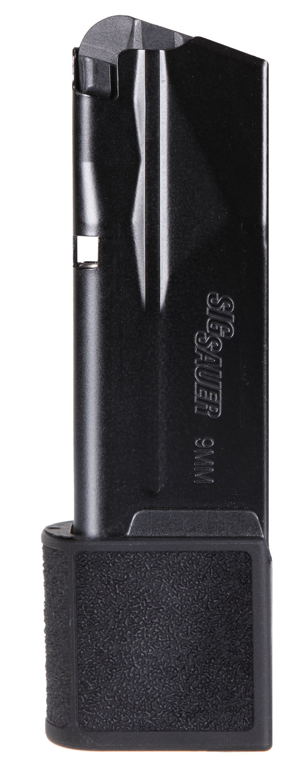 Sig Sauer MAG365915 Sig P365   9mm Luger 15 rd Round Metal Black Finish