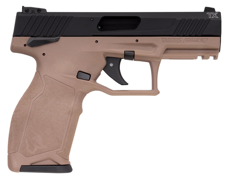TX22 22LR BLK/FDE 4 10+1 SFTY - 1-TX22141F-10  MANUAL SAFETY