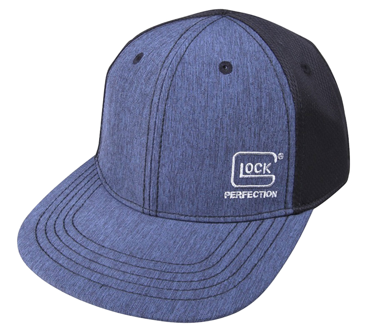 Glock AS10080 Pro-Curve  Hat Black/Navy Cotton/Mesh Velcro