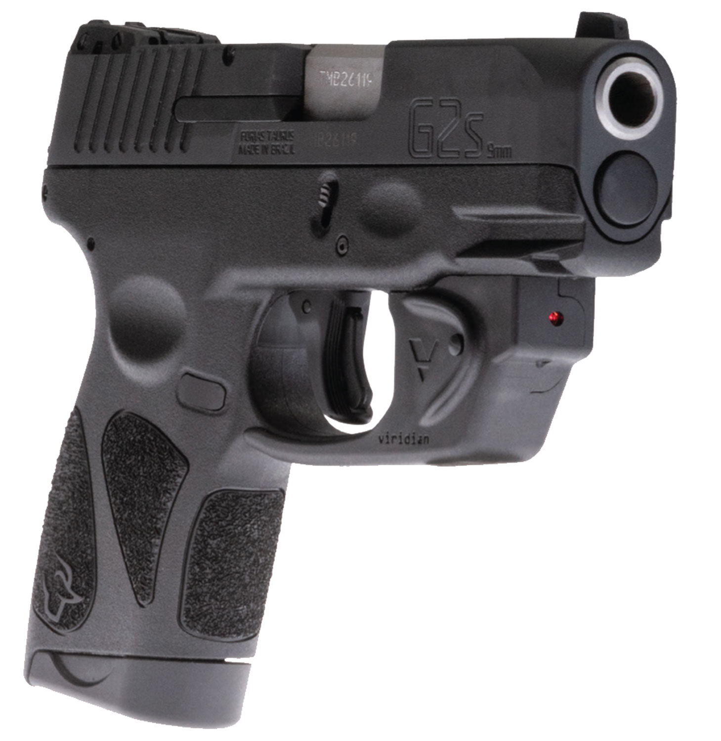 Taurus 1G2S931VL G2S with Viridian Laser 9mm Luger Single 3.25
