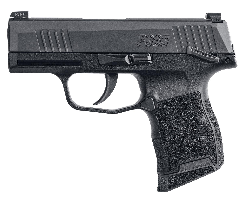 Sig Sauer 3659BXR3MSMA P365  *MA Compliant Luger Double Striker Fire 3.1