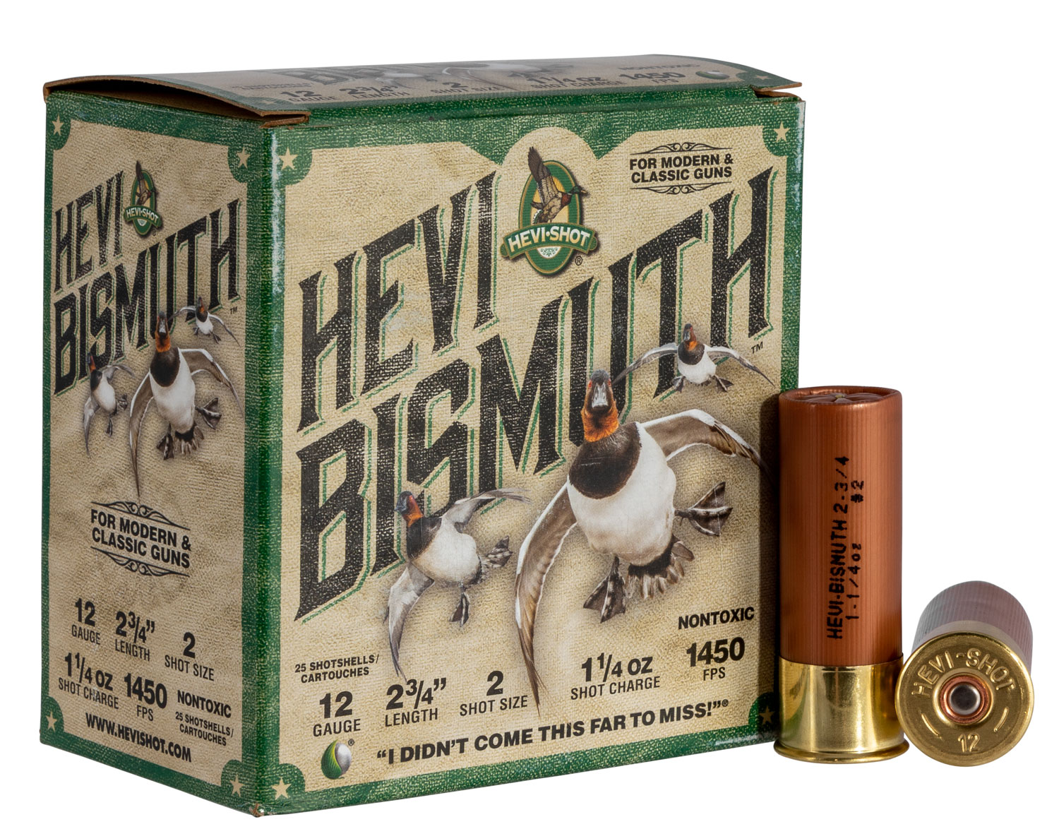 Hevishot 14702 Hevi-Bismuth Waterfowl 12 Gauge 2.75
