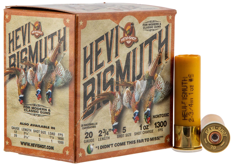Hevishot 17715 Hevi-Bismuth Upland 20 Gauge 2.75