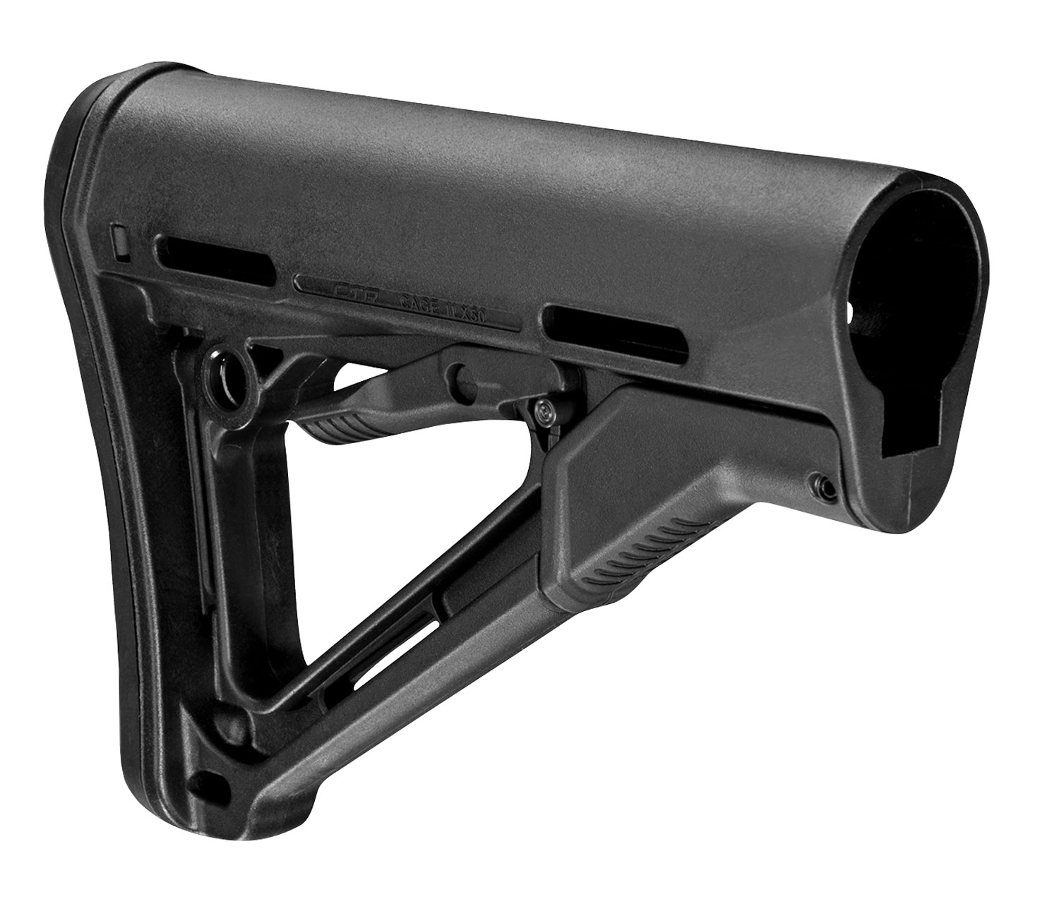 Magpul MAG310-BLK CTR Carbine Stock Black Synthetic for AR-15, M16, M4 with Mil-Spec Tube (Tube Not Included)
