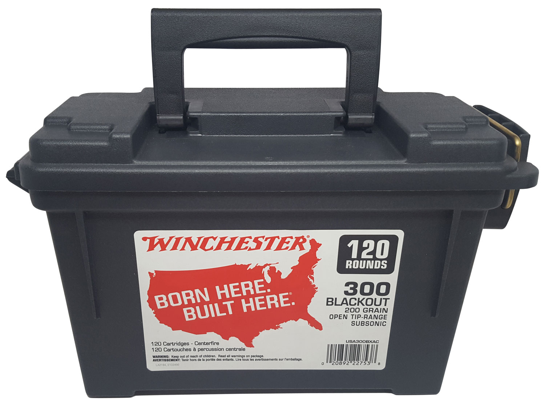 Winchester Ammo USA300BXAC USA   300 BO 200 GR Open Tip 120 Bx/ 4 Cs