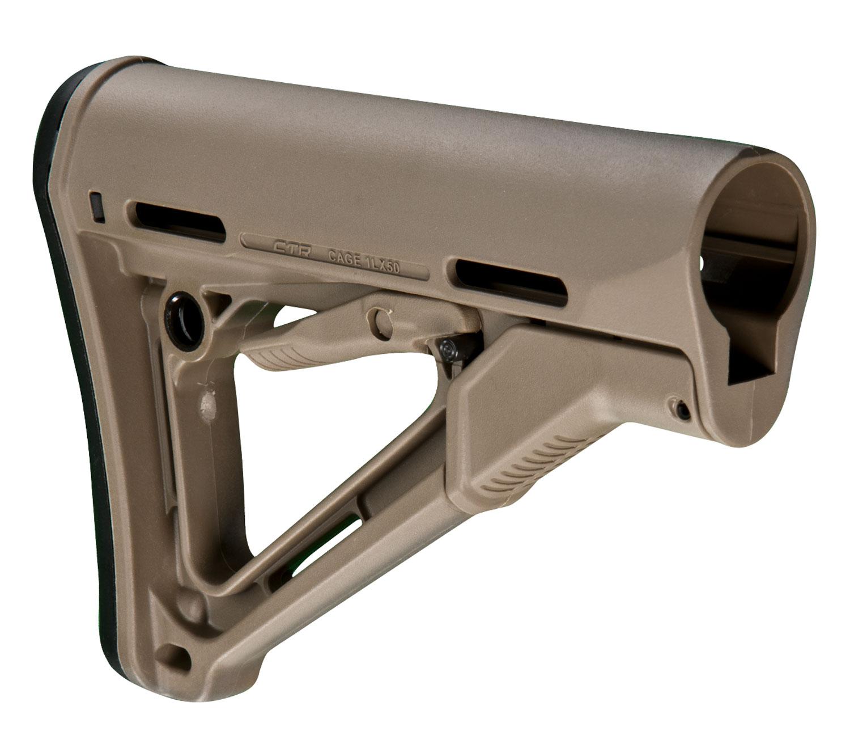 Magpul MAG310-FDE CTR Mil-Spec AR-15 Reinforced Polymer Flat Dark Earth