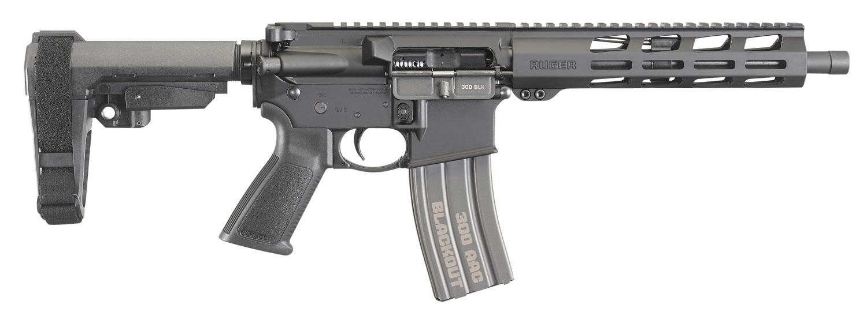 RUGER AR-556 PSTL 300BO 10.5 BLK 30R