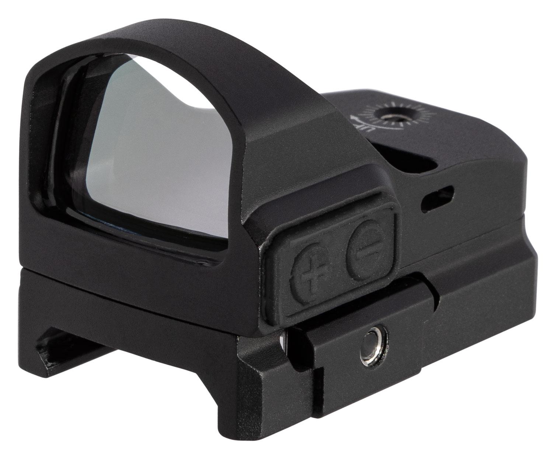 Truglo TG8100G Tru-Tec  1x 23x17mm 3 MOA Green Dot Black