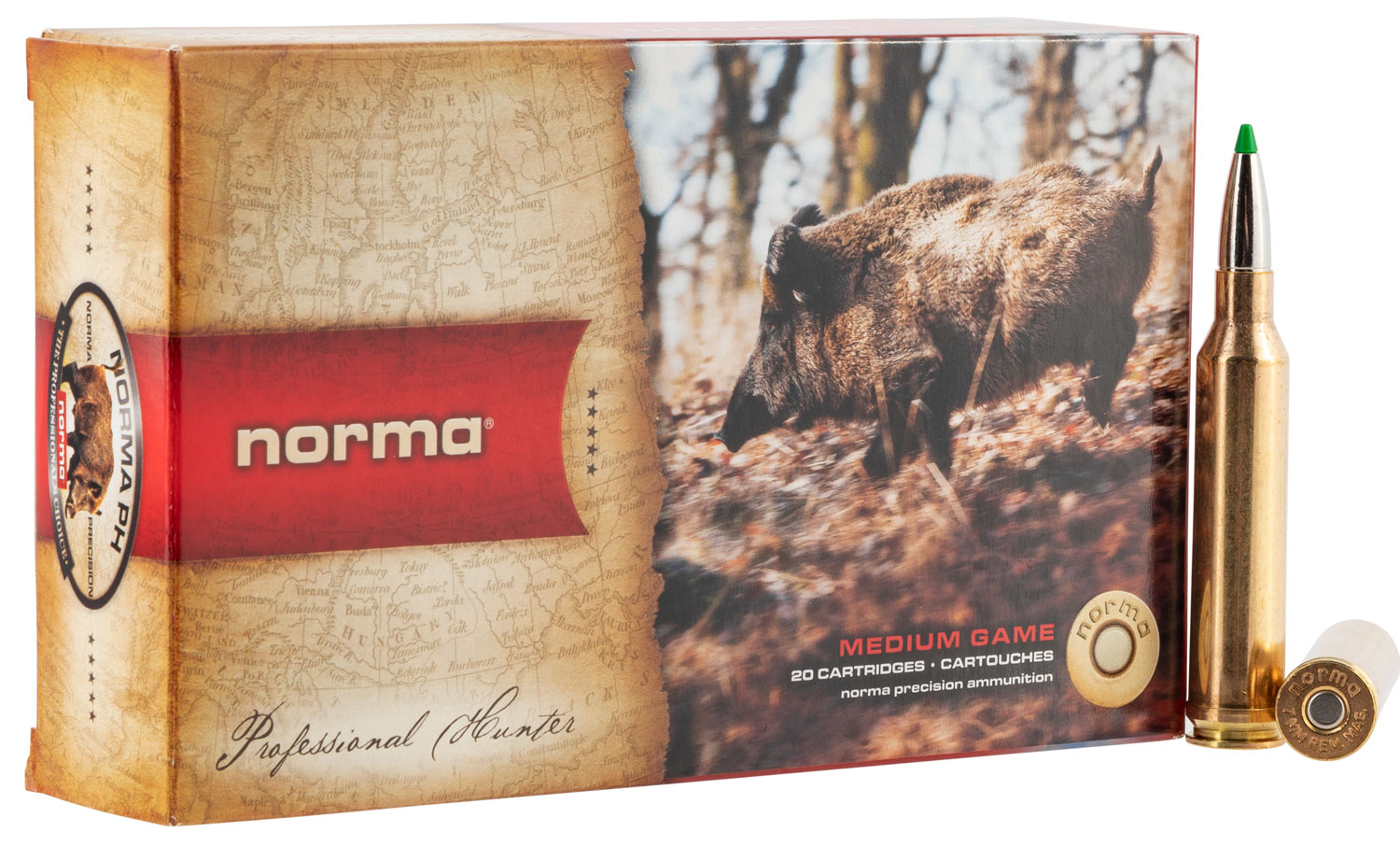 NORMA 20171172  7MM REM MAG   140 ECOSTRIKE  20/10
